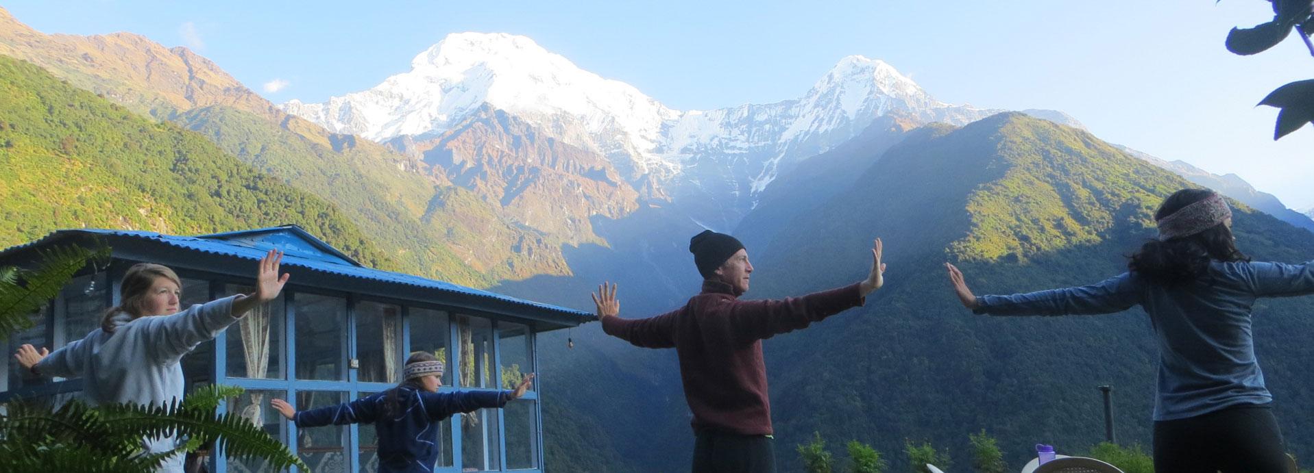 Annapurna Yoga Trek