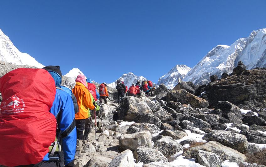 Three Pass trek in Everest