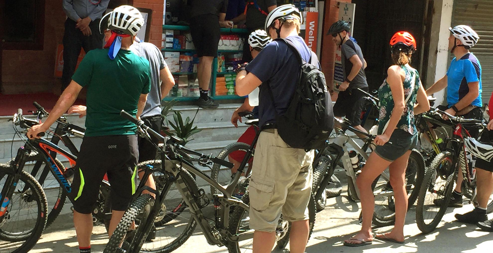 Biking Langtang Tibet Border