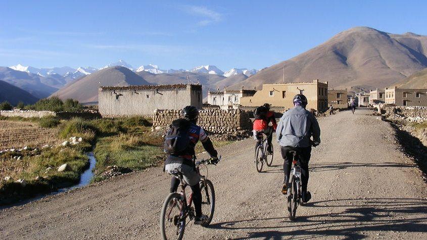 Biking to Kailash