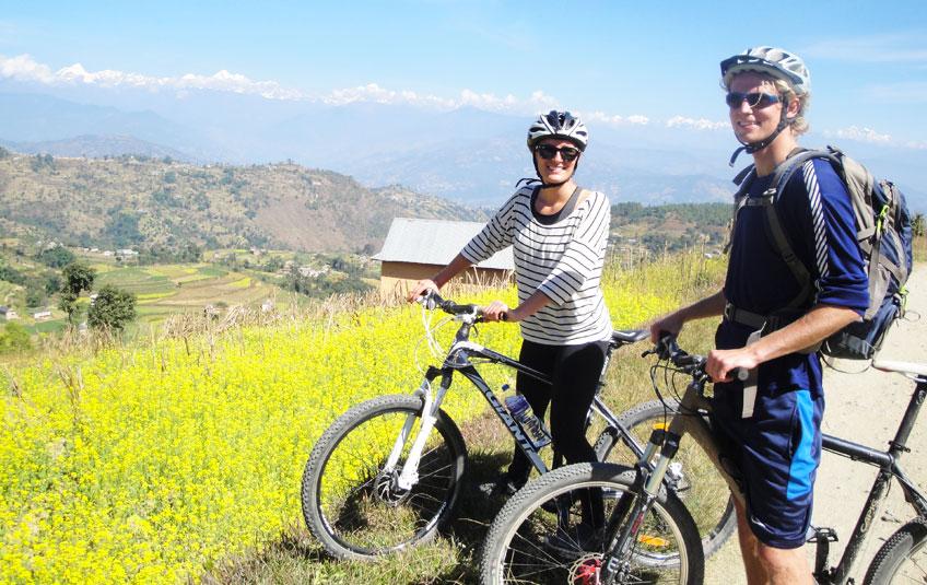 Kathmandu Cultural Trail Biking