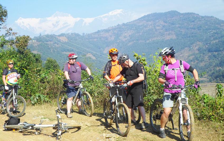 Kathmandu Pokhara Biking