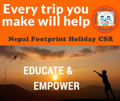 Nepal Footprint Holiday CSR