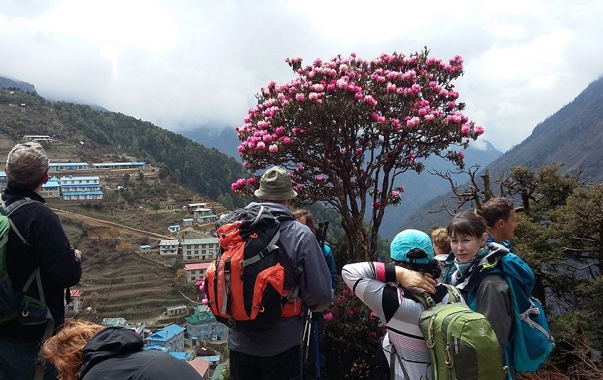 Everest Base Camp Travel report by Russian