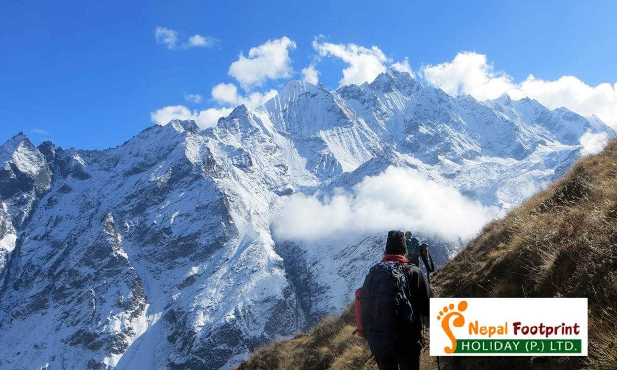 View from Langtang Valley Trek