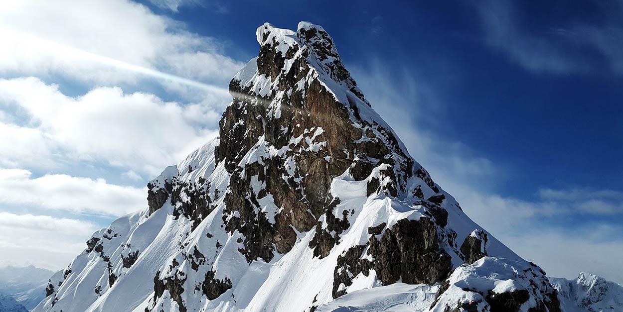 Best climbing peak in Nepal Larkya Peak