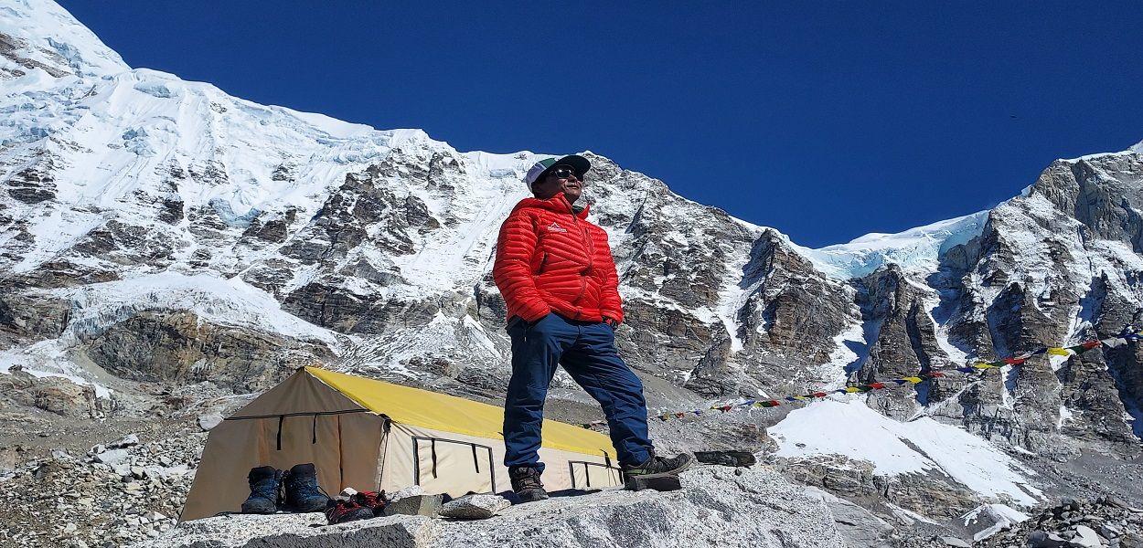 Tent Peak Climbing Base Camp